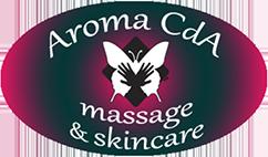Aroma CdA Massage & Skincare Logo